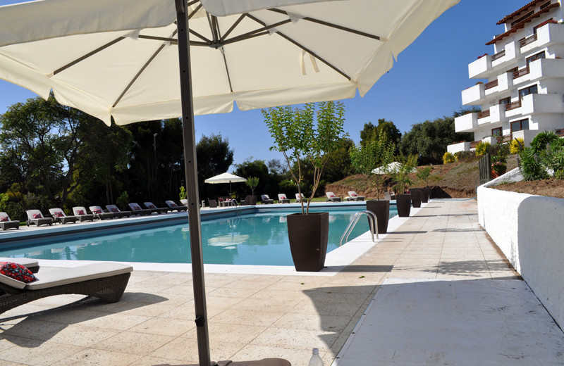 Outdoor pool at Marbella Resort Hotel.