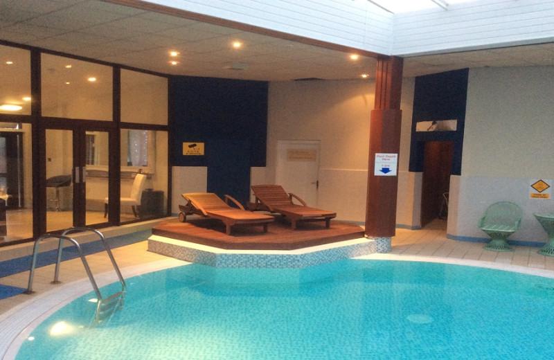 Indoor pool at Craigmonie Hotel.