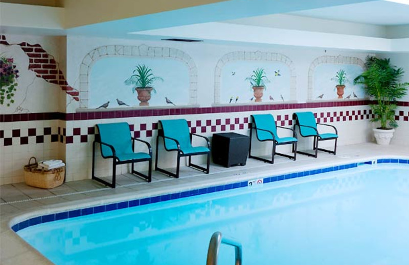 Indoor pool at Residence Inn Kansas City Country Club Plaza.