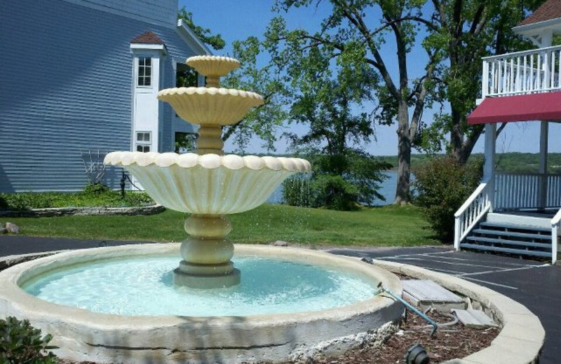 Fountain at French Country Inn