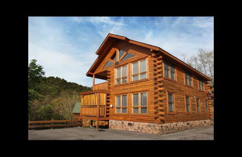 Charmant Cabin Exterior At Eden Crest Vacation Rentals, Inc.   Dau0027 Crawfish Hole.