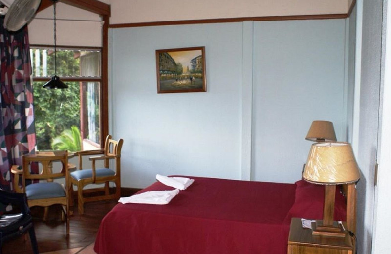 Guest room at Arenal Vista Lodge.
