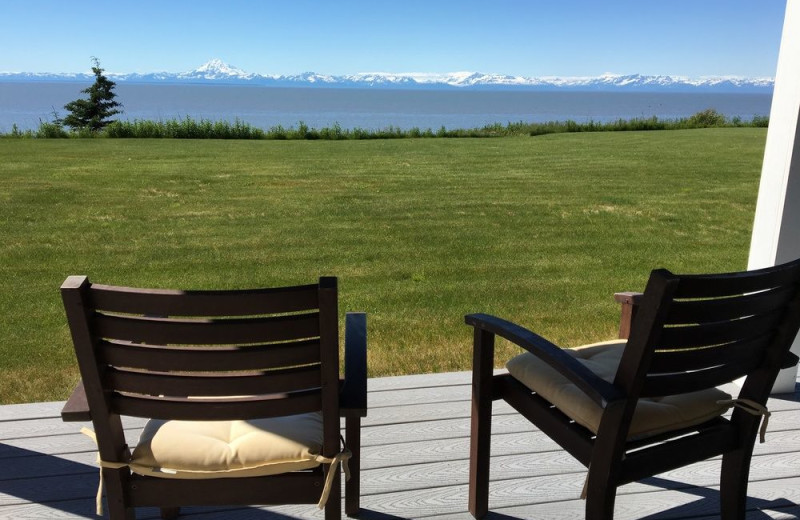 Ocean view at Jimmie Jack's Alaska Fishing Lodges.
