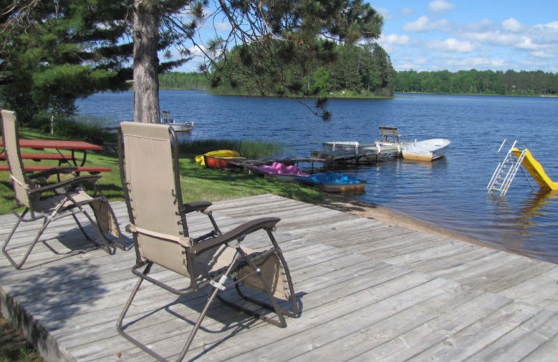 Lake view at Deer Lake Resort.