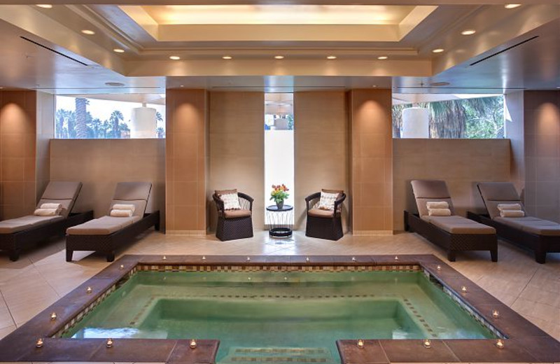 Spa Wet Room at Marriott Desert Springs Resort