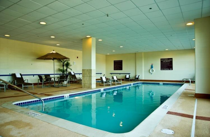 Indoor pool at Embassy Suites Detroit - Southfield.