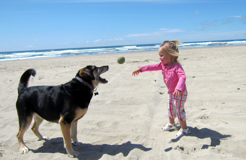 Pet and family friendly at Kiwanda Coastal Properties.