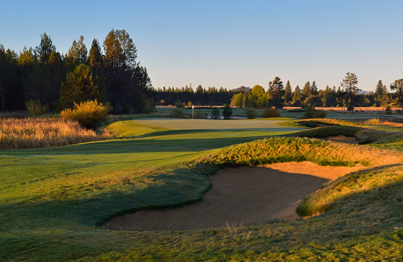 The Meadows golf Course at Sunriver Resort.