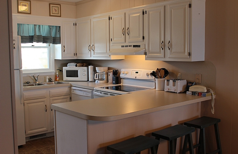 Rental kitchen at Williamson Realty. Inc.