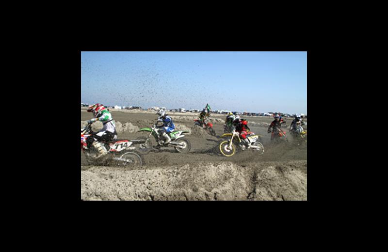 Motorcross show at Florentine Family Motel.