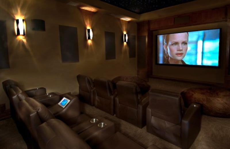 Movie theater at Grand Lodge on Peak 7.