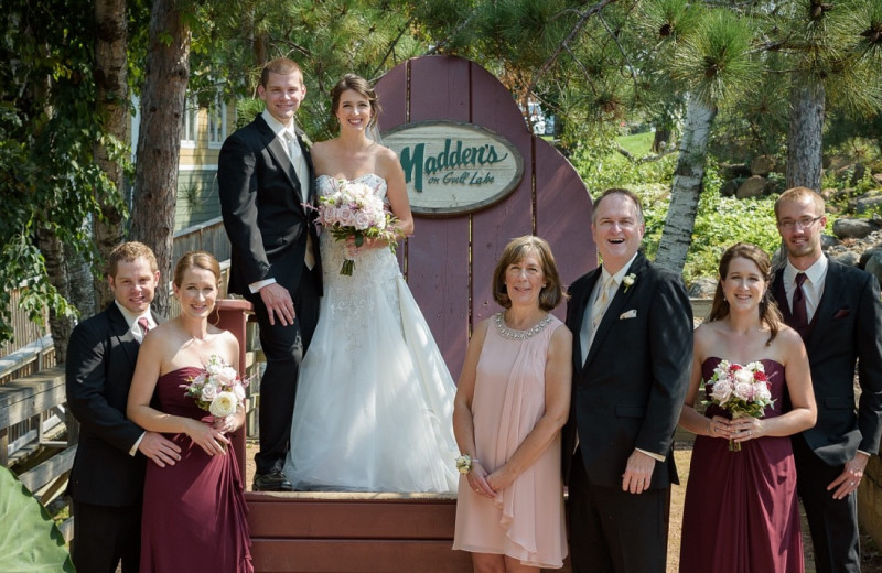 Weddings at Madden's on Gull Lake.