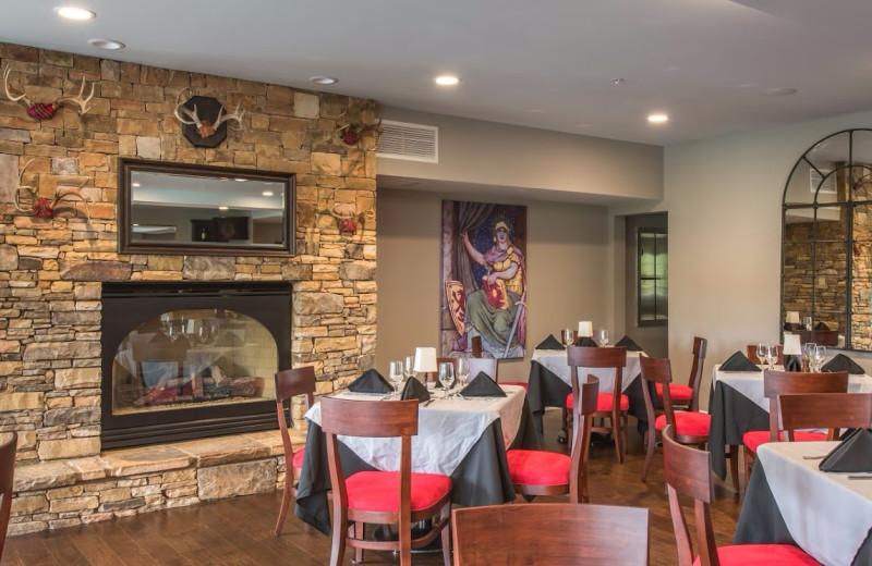 Dining at Valhalla Resort Hotel.