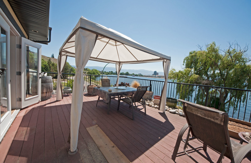 Rental balcony at realTopia Vacation Rentals.