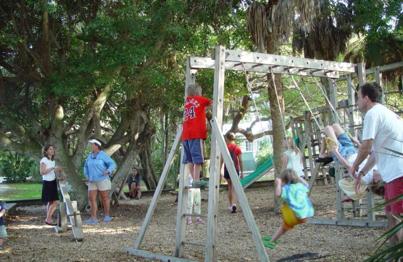Children's playground at Manasota Beach Club.