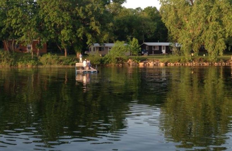 Cabins at Ten Mile Lake Resort.