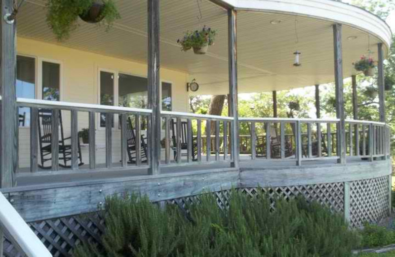 Front Porch at Haven River Inn