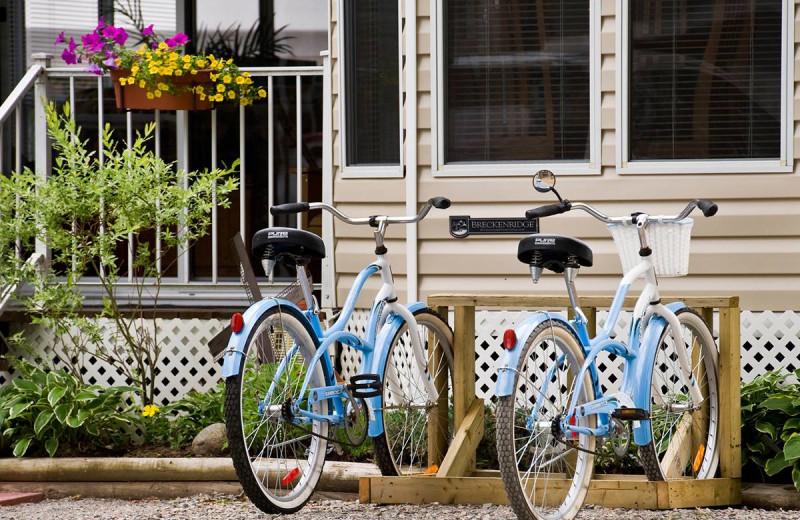 Bikes at Great Blue Resorts- Shamrock Bay Resort.