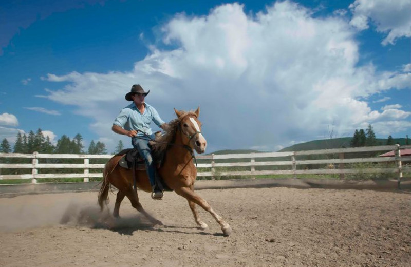 Horseback Riding at Three Bars Ranch