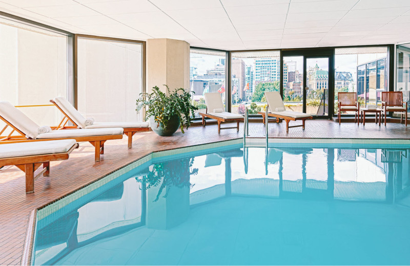 Indoor pool at The Westin Ottawa.
