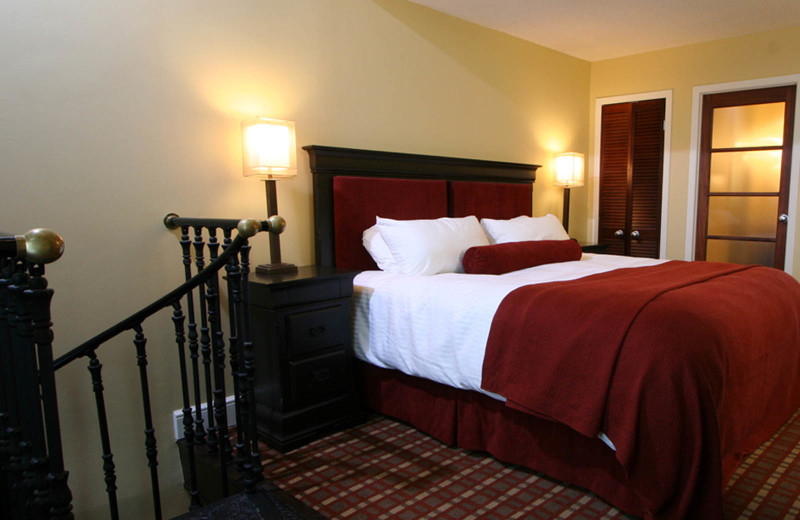 Guest room at Hockley Valley.