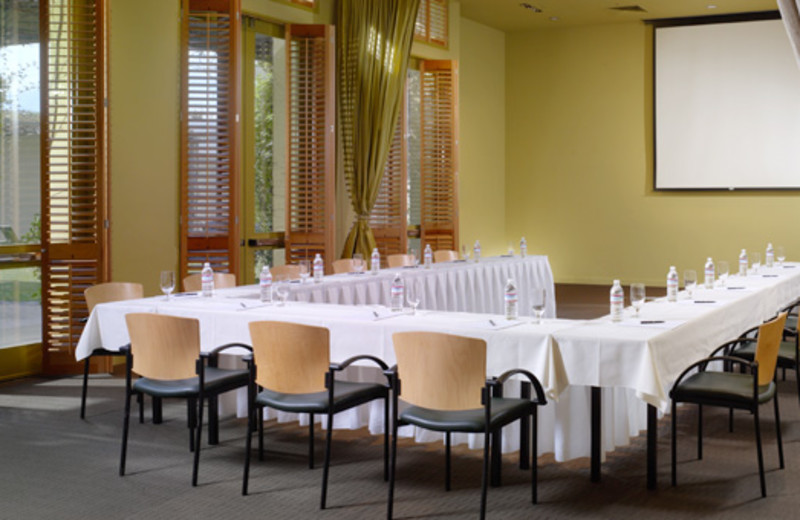 Conference room at Hotel Healdsburg.
