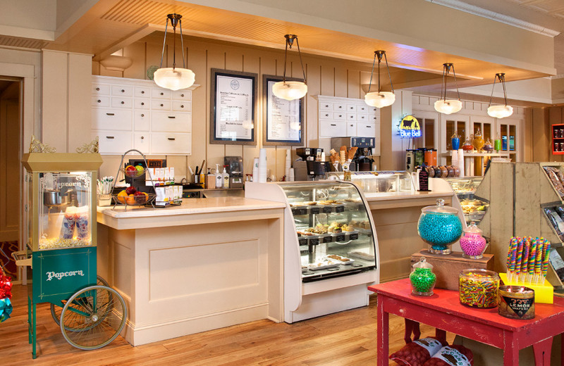Candy shop at Hyatt Regency Lost Pines Resort and Spa.
