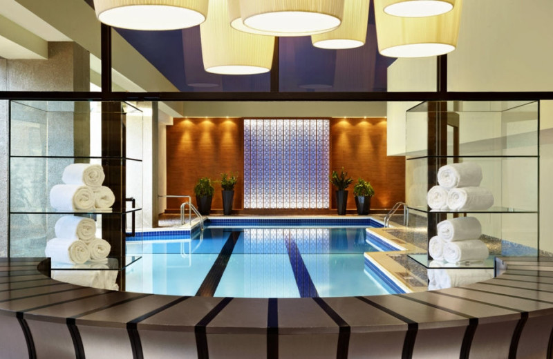 Indoor pool at Le Centre Sheraton.