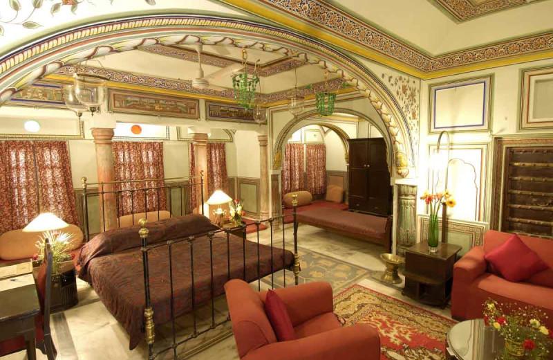 Guest room at Castle Mandawa.