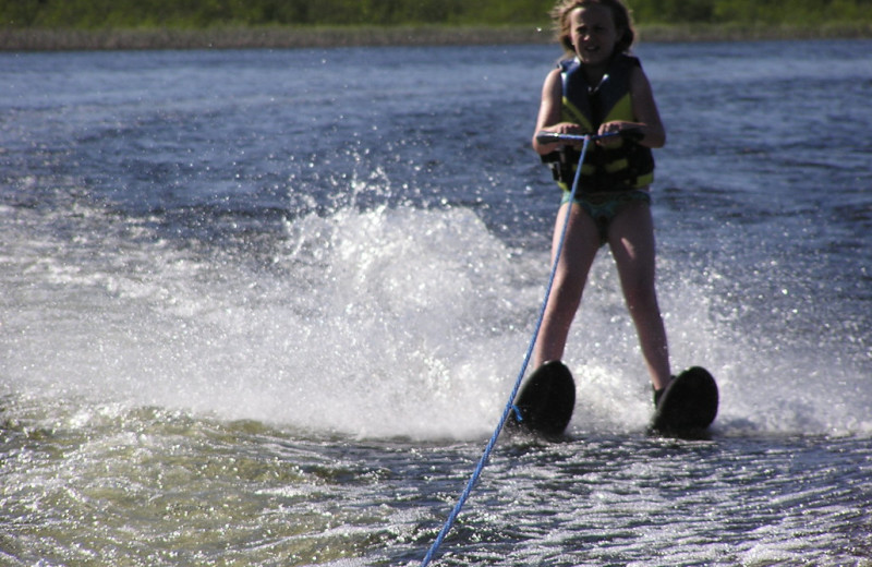 Water skiing at Kokomo Resort.