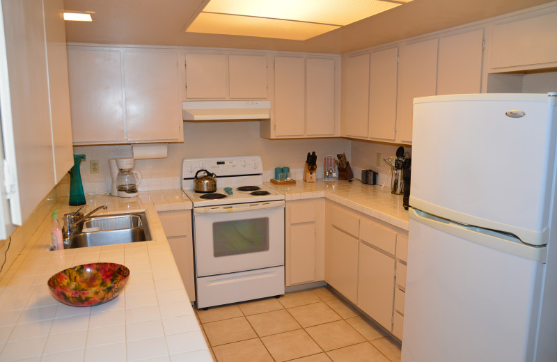Rental kitchen at Padzu Vacation Homes - Palm Springs