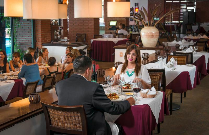 Dining at Granada Country Club.