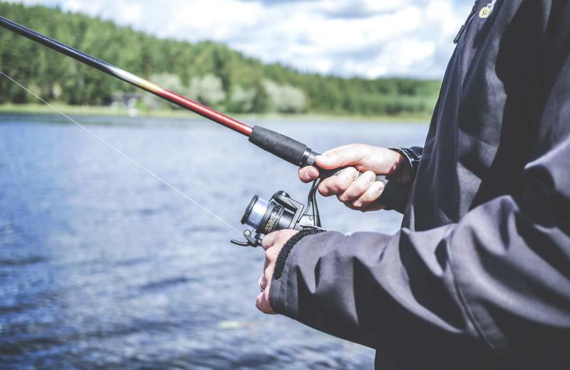Fishing at Amazing Branson Cabin Rentals - RentBranson.