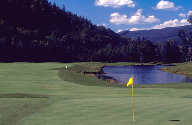 Golf near Residence Inn Mont Tremblant Manoir Labelle.