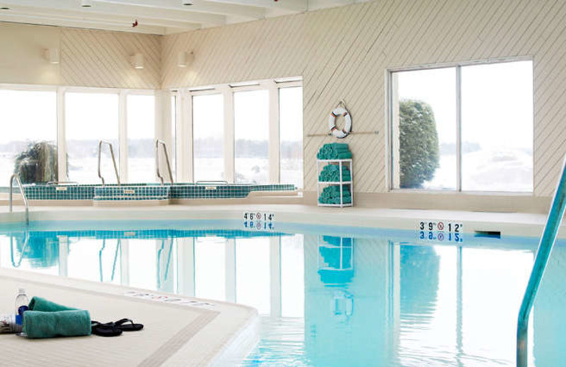 Indoor Pool at the Delta Sault Ste. Marie Waterfront Hotel