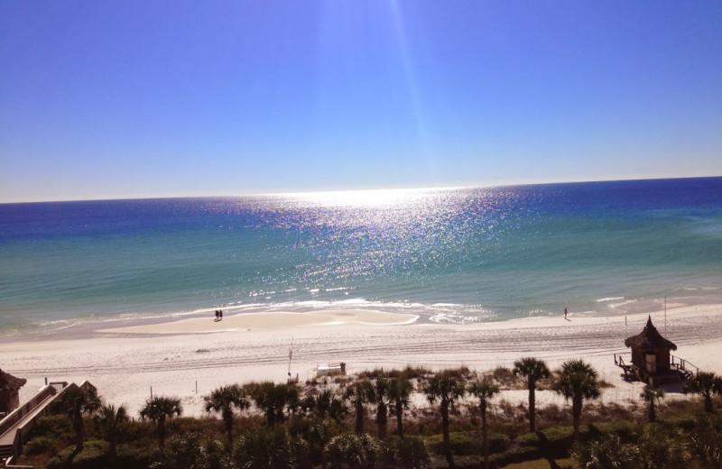 The beach at Newman-Dailey Resort Properties, Inc.