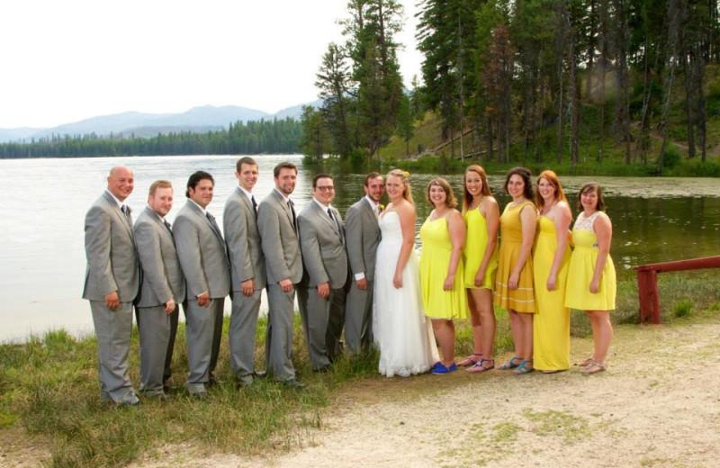 Weddings at North Shore Lodge & Resort.
