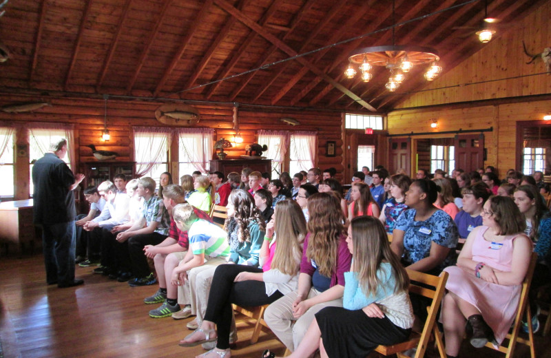 Meetings & conference at Jackson's Lodge and Log Cabin Village.