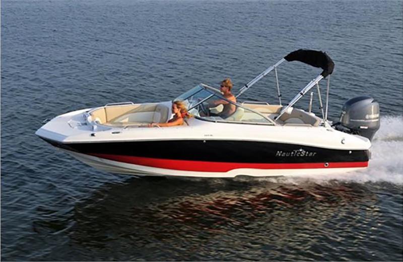 Boating at Redman Rental Group.