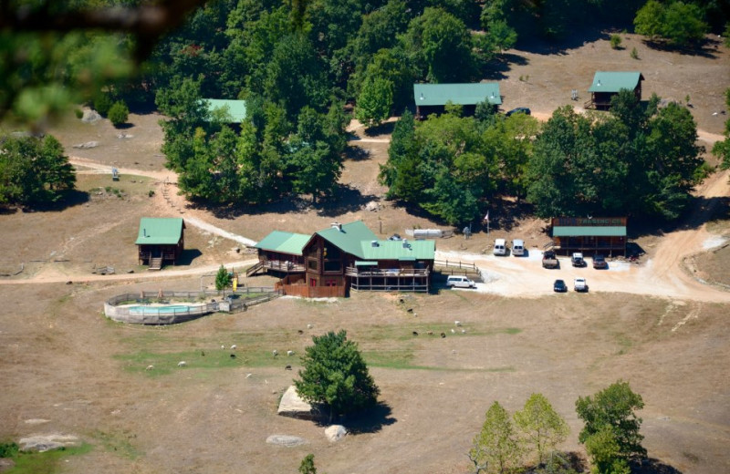 Aerial View of Horseshoe Canyon Ranch