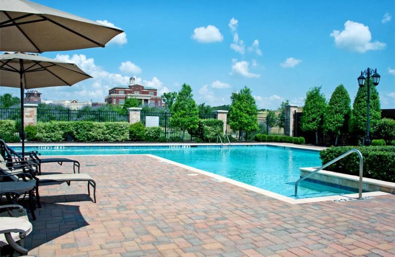 Outdoor pool at Hilton Dallas/Southlake Town Square.