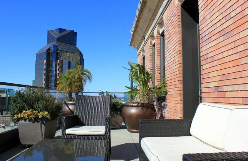 Balcony at The Citizen Hotel.