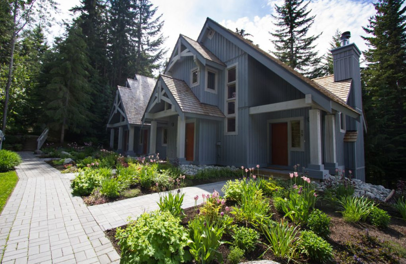 Rental exterior of Whistler Breaks.