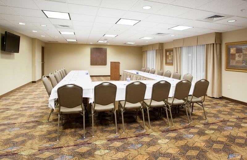 Conference room at Holiday Inn Express & Suites Lander.