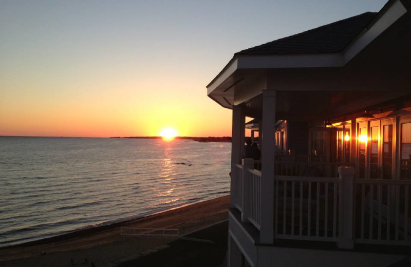 Sunset at Madison Beach Hotel.