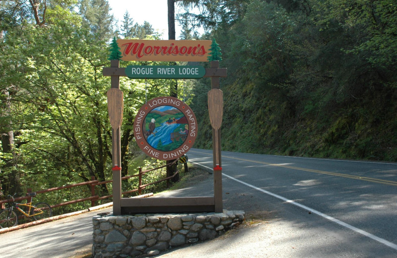 Welcome to Morrison's Rogue River Lodge.