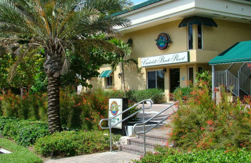 Exterior view of Vanderbilt Beach Resort.