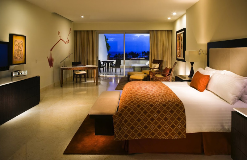 Guest room at Grand Velas All Suites and Spa Resort - Riviera Maya.