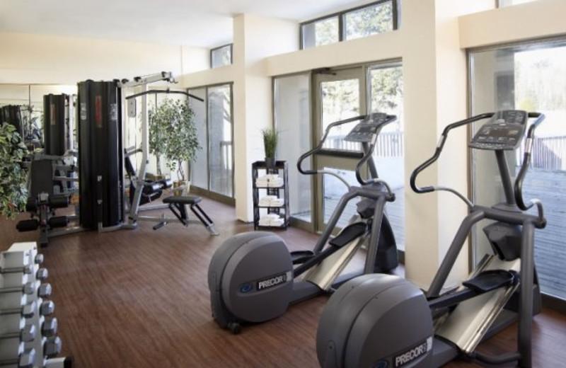 Fitness Room at the Pinestone Resort