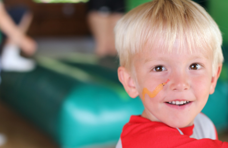 Fun at the Kid's Carnival, one of our supervised activities at Fair Hills Resort